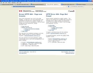 HTTP Error 404 -Page Not Found