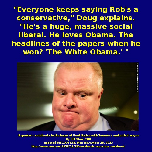 Can #WhiteObama distract #cdnpoli away from the #Harper #CPC #FordNation 3 Ring Circus?