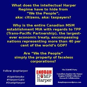 Secret TPP (Trans-Pacific Partnership)