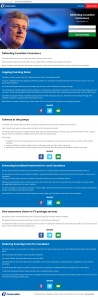 Harper's ConsumersFirst[dot]ca Redirection Propaganda Website Conflict of Interest  21Feb2014