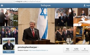 Harper's PMO Instagram Website Redirect url Conflict of Interest 21Feb2014