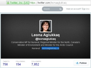 Archived content  Leona Aglukkaq @leonaaglukkaq 21Feb201
