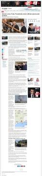 Ukraine crisis: Putin, Poroshenko meet in Minsk amid border violence [archived v4] Shelling rocks southeastern Ukraine town of Novoazovsk The Associated Press Posted: Aug 26, 2014 5:52 AM ET Last Updated: Aug 26, 2014 12:12 PM ET