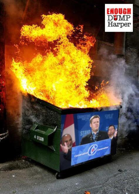 #Harpers #DumpsterFire 2015